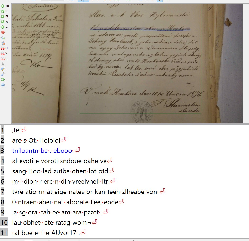 Czech Handwritten Text Recognition: A Real Possibility ...